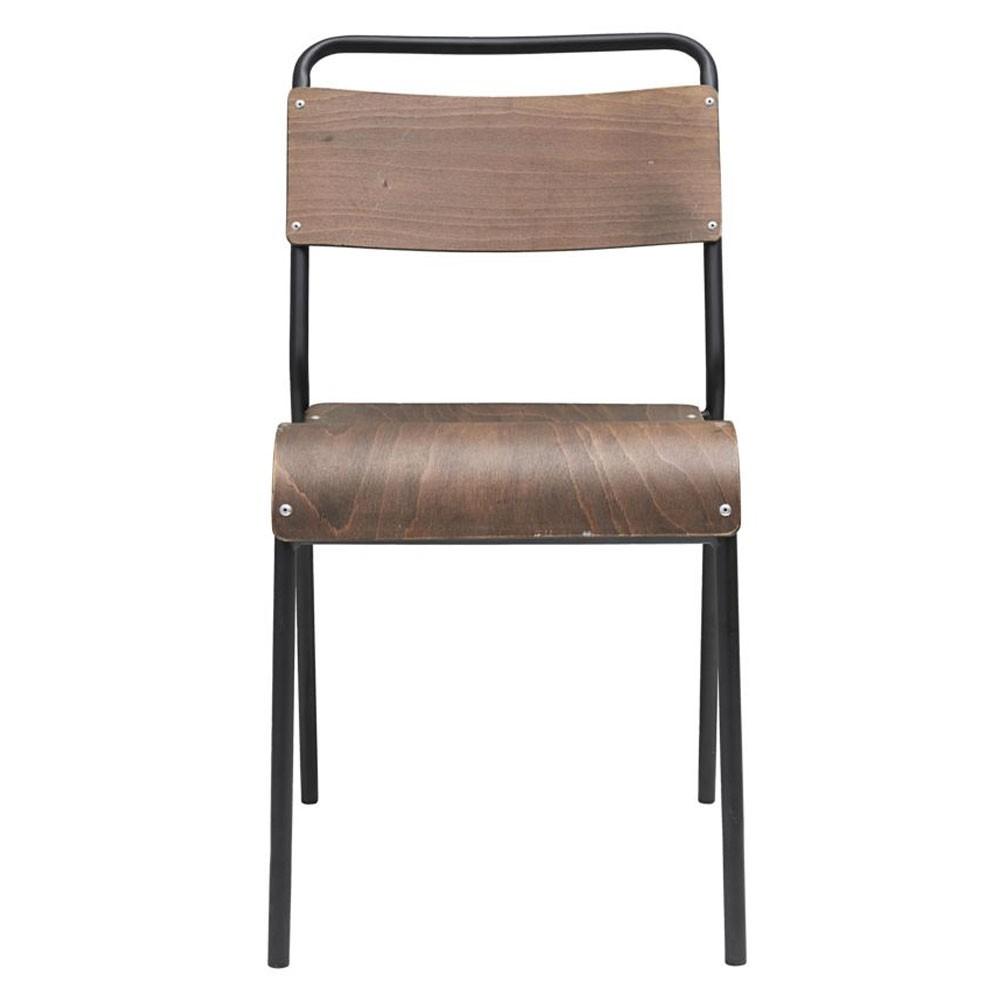 Originele stoel donkerbruin House Doctor