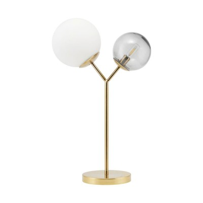 Lampe de table Twice finition laiton House Doctor