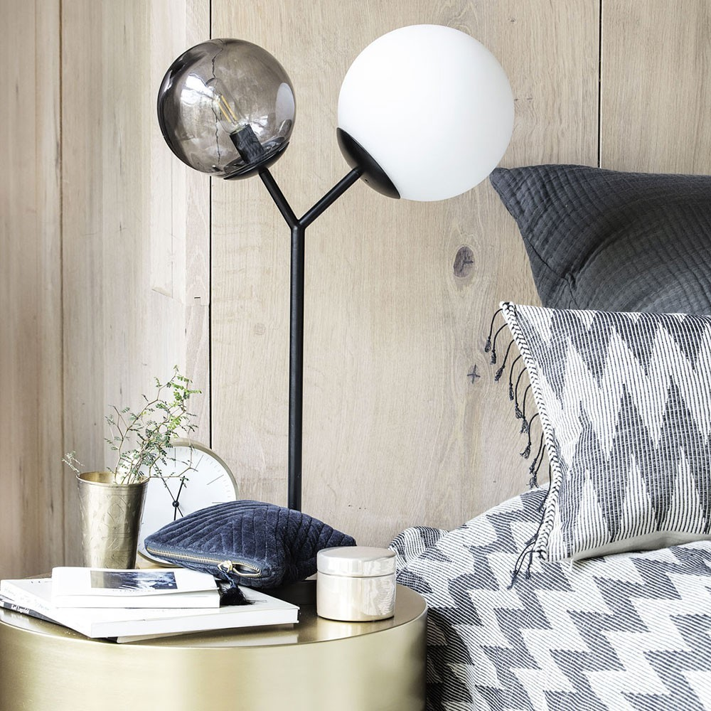 Twice table lamp black House Doctor