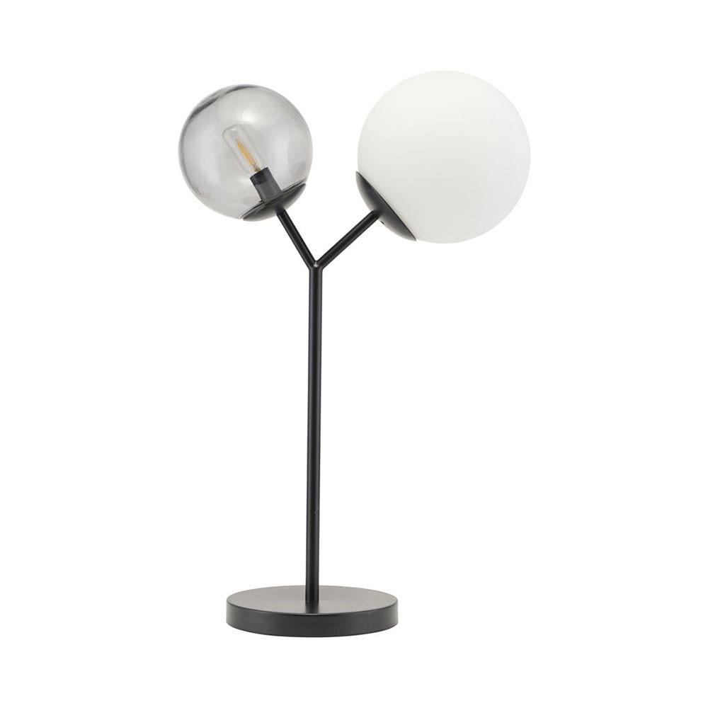 Lampe de table Twice noir House Doctor