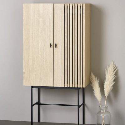 Array highboard oak 80cm Woud