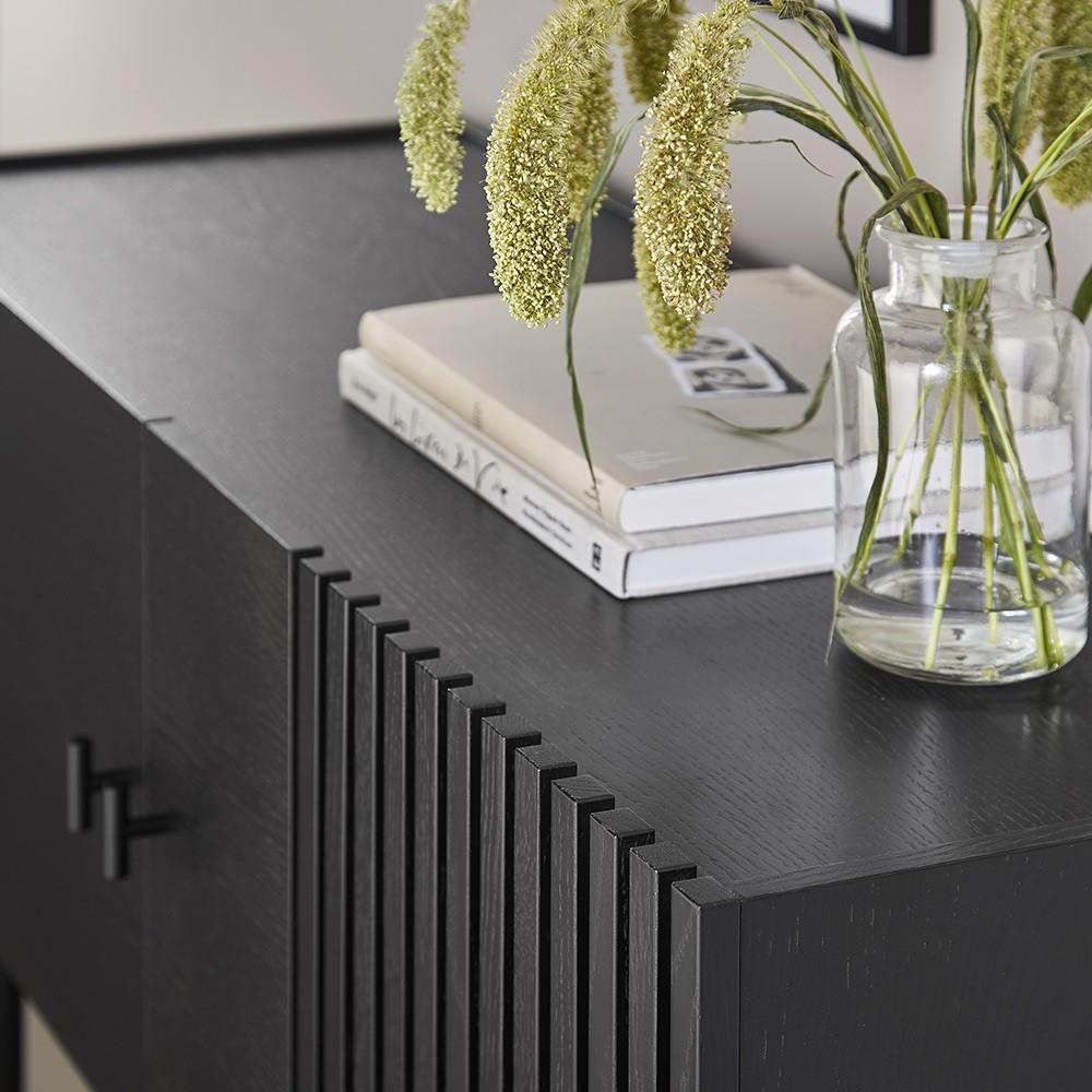 Buffet Array noir 120cm Woud