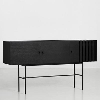 Array dressoir zwart 180cm Woud