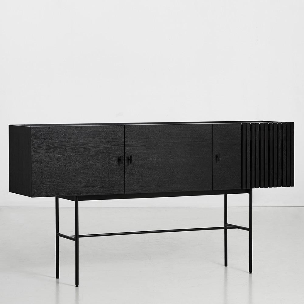 Array sideboard black 180cm Woud