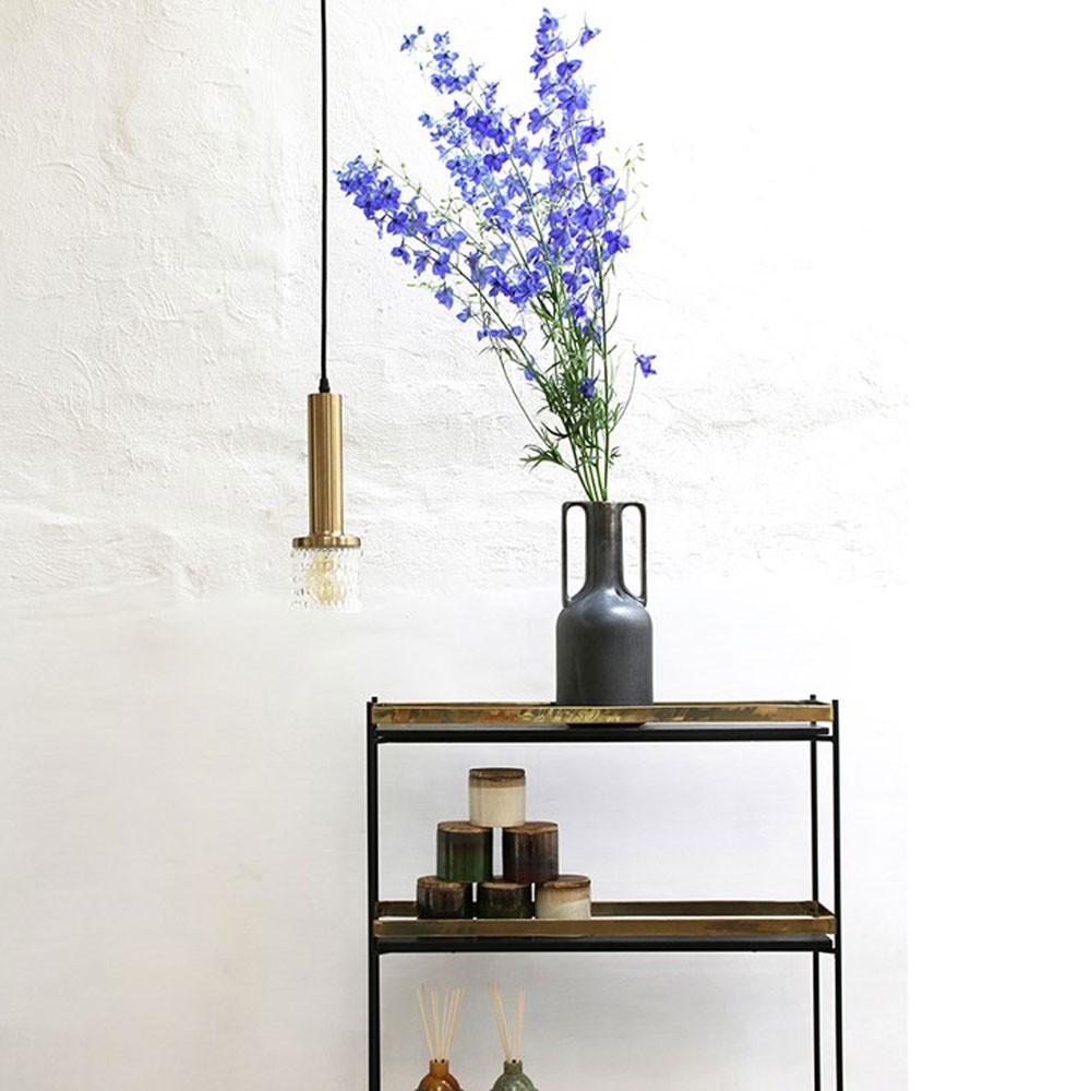 Suspension laiton/verre HKliving