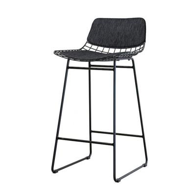 Wire bar stool comfort kit black HKliving