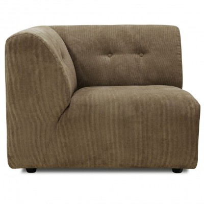 Module A sofa Vint bruin HKliving