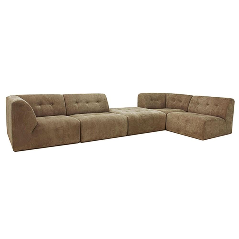 Element hocker Vint couch brown HKliving