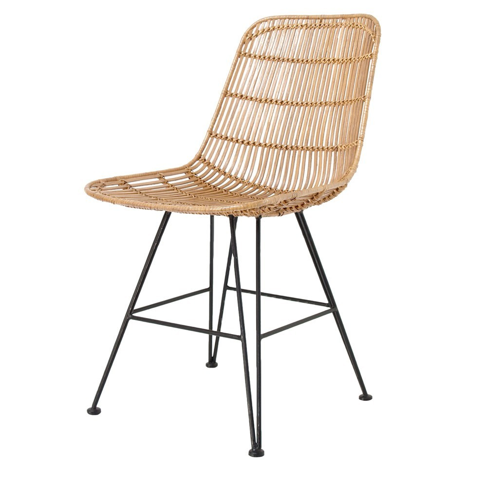 Rattan dining chair natural HKliving