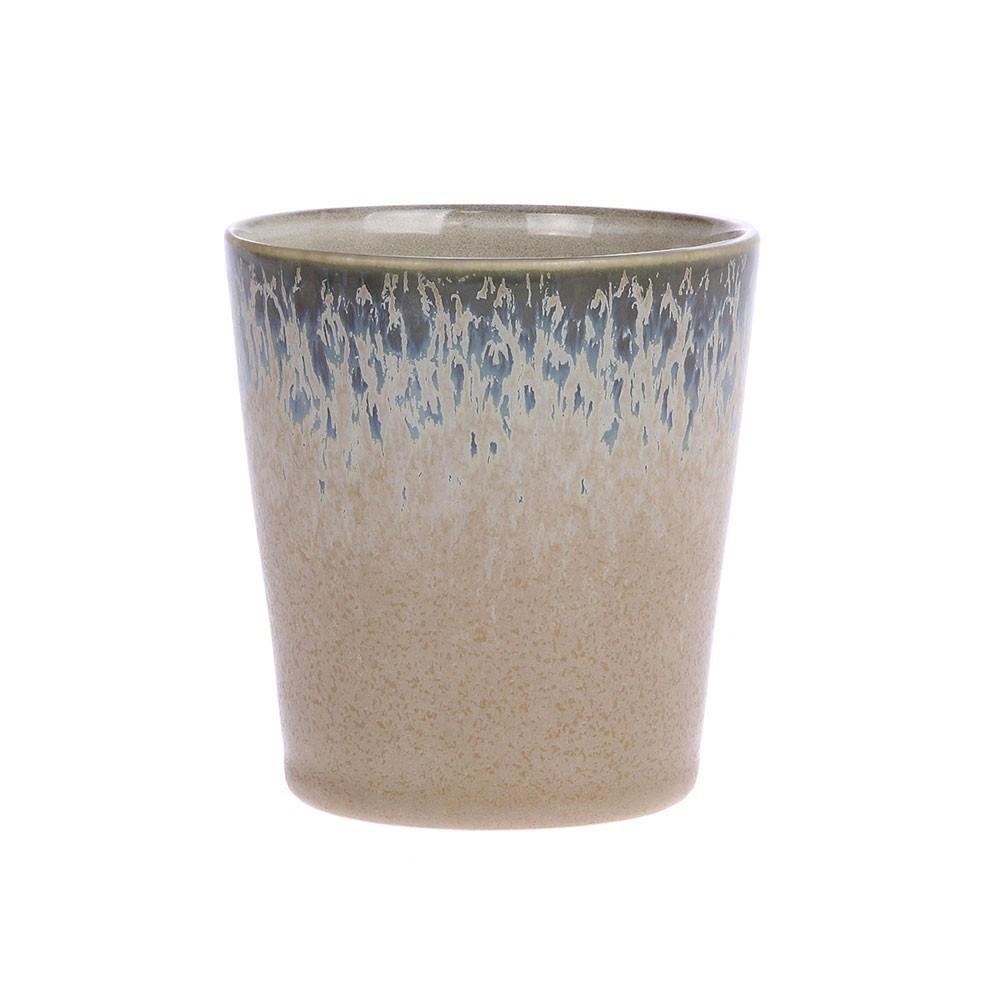 Mugs en céramique 70's bark HKliving