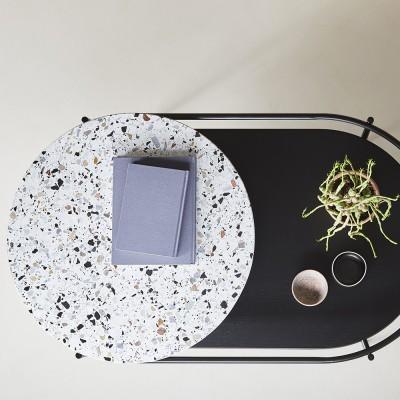 Verde terrazzo salontafel Woud