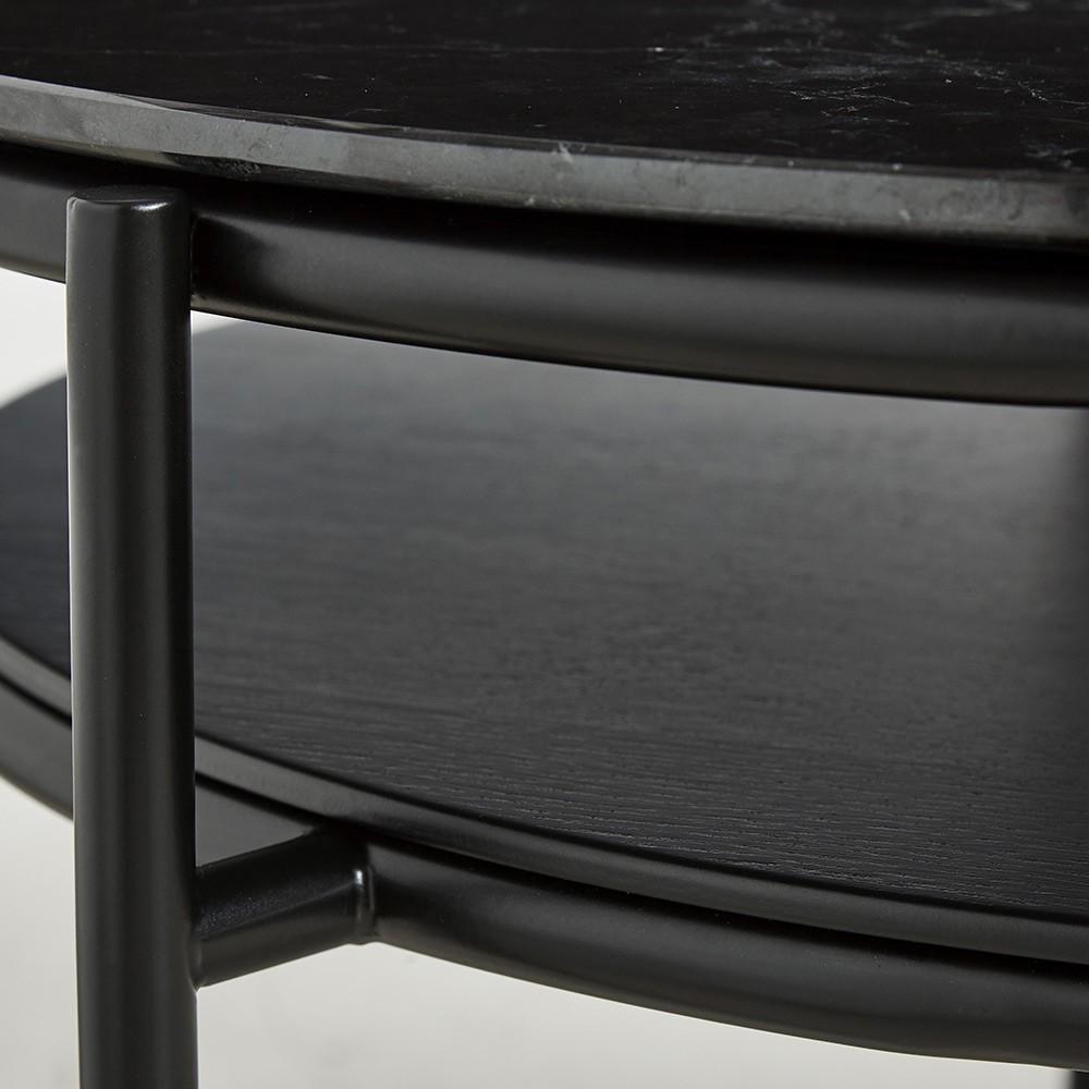 Verde coffee table black marble Woud