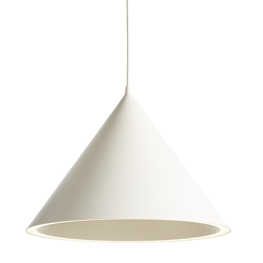 Annular pendant Large white Woud