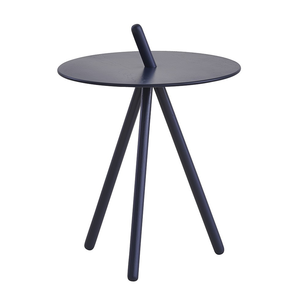 Come Here side table midnight blue Woud