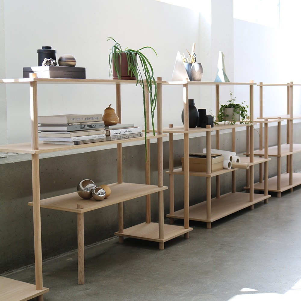 Elevate shelving system 1 Woud