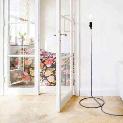 Cord floor lamp