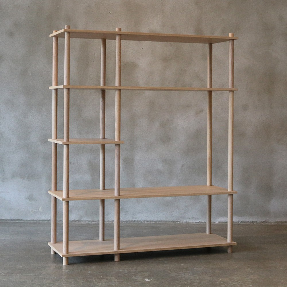 Elevate shelving system 7 Woud