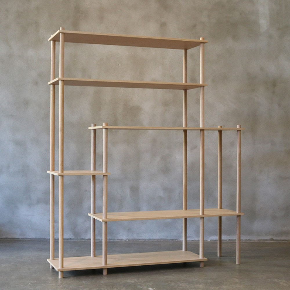 Elevate shelving system 11 Woud