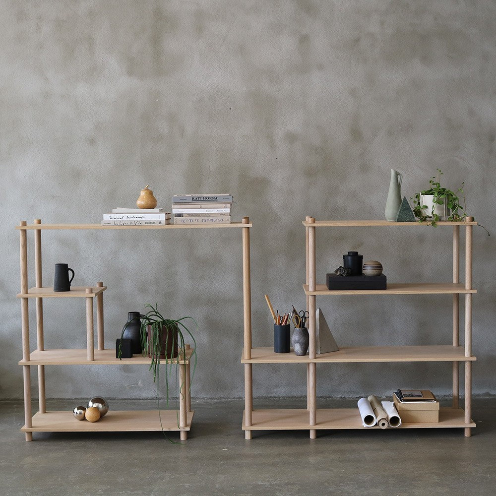 Elevate shelving system 12 Woud