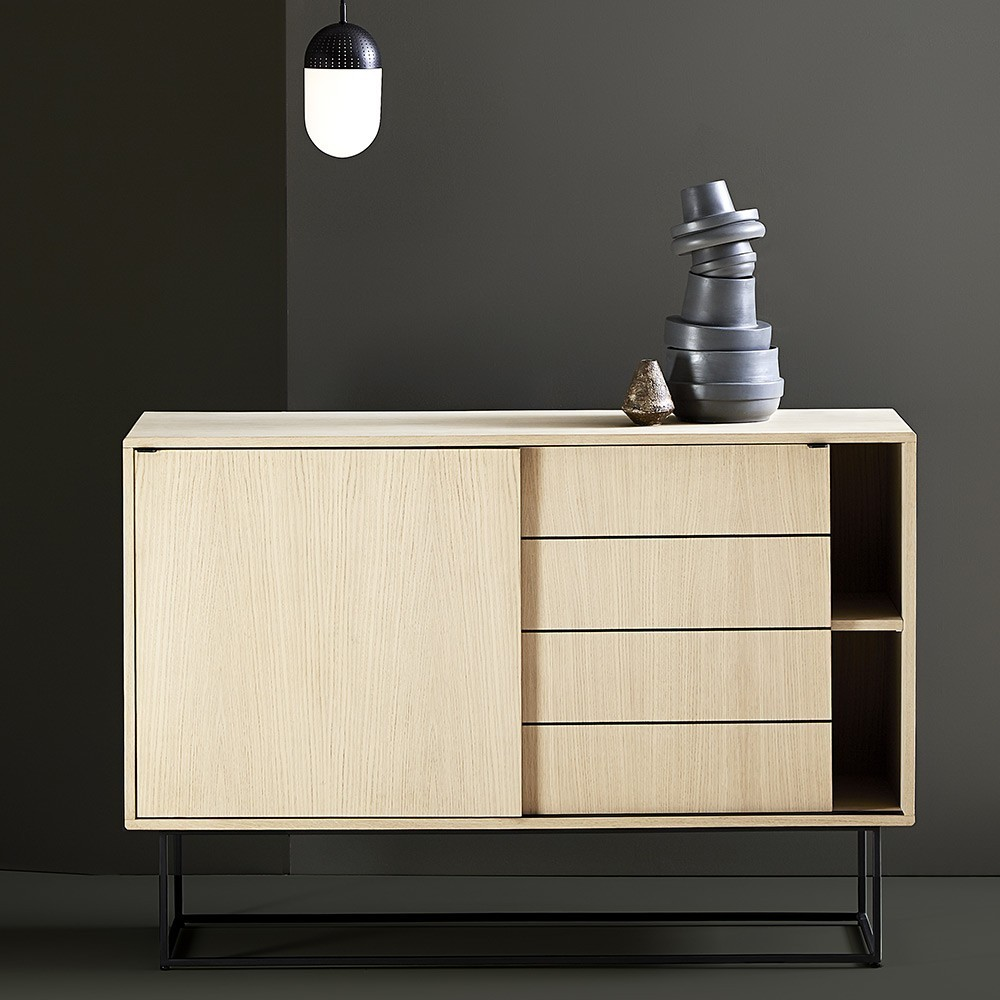 Virka sideboard high oak Woud