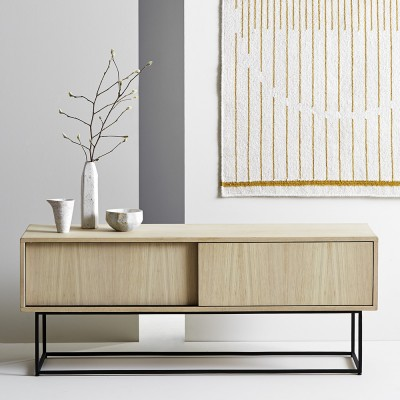 Virka sideboard low oak Woud