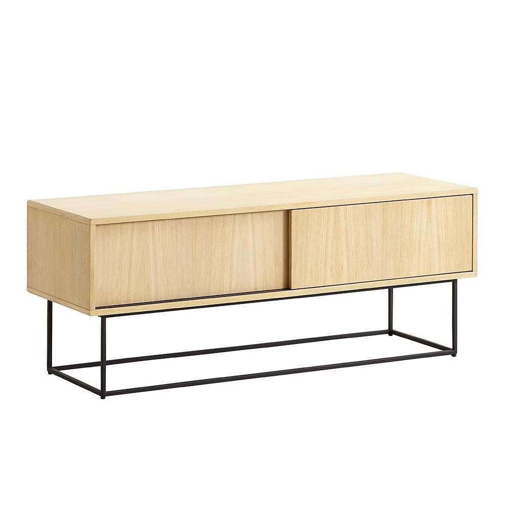 Virka sideboard low oak Woud