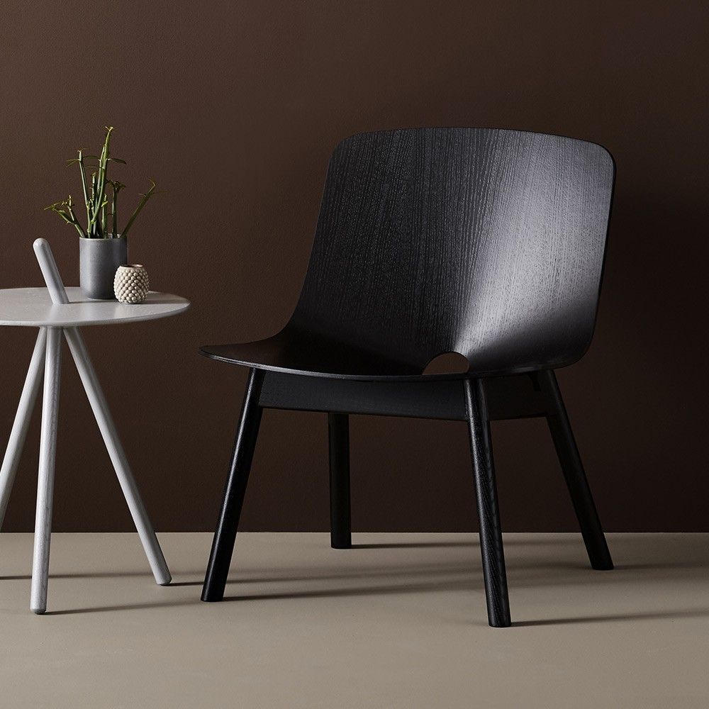 Mono Lounge chair black Woud