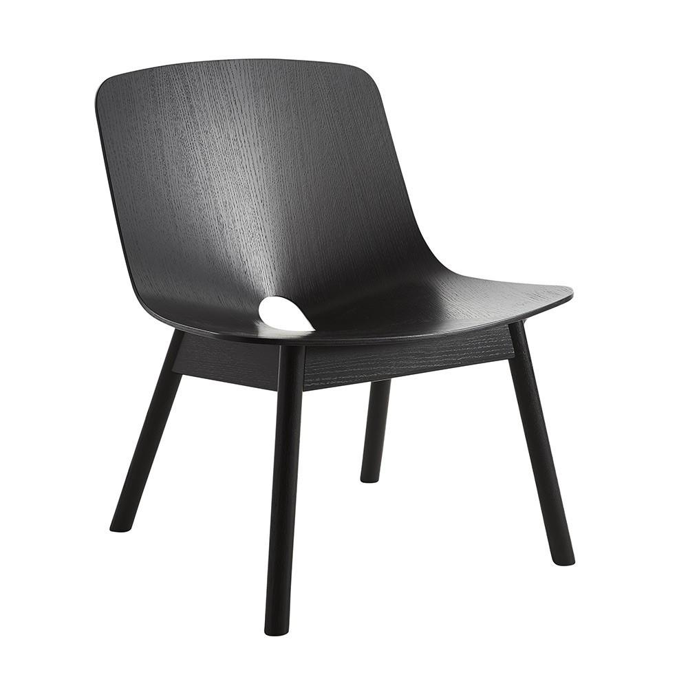 Chaise lounge Mono noir Woud