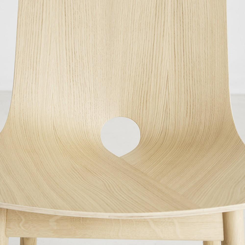 Mono stoel eiken Woud
