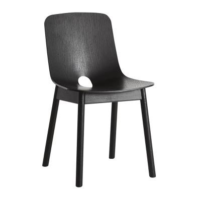 Mono stoel zwart Woud