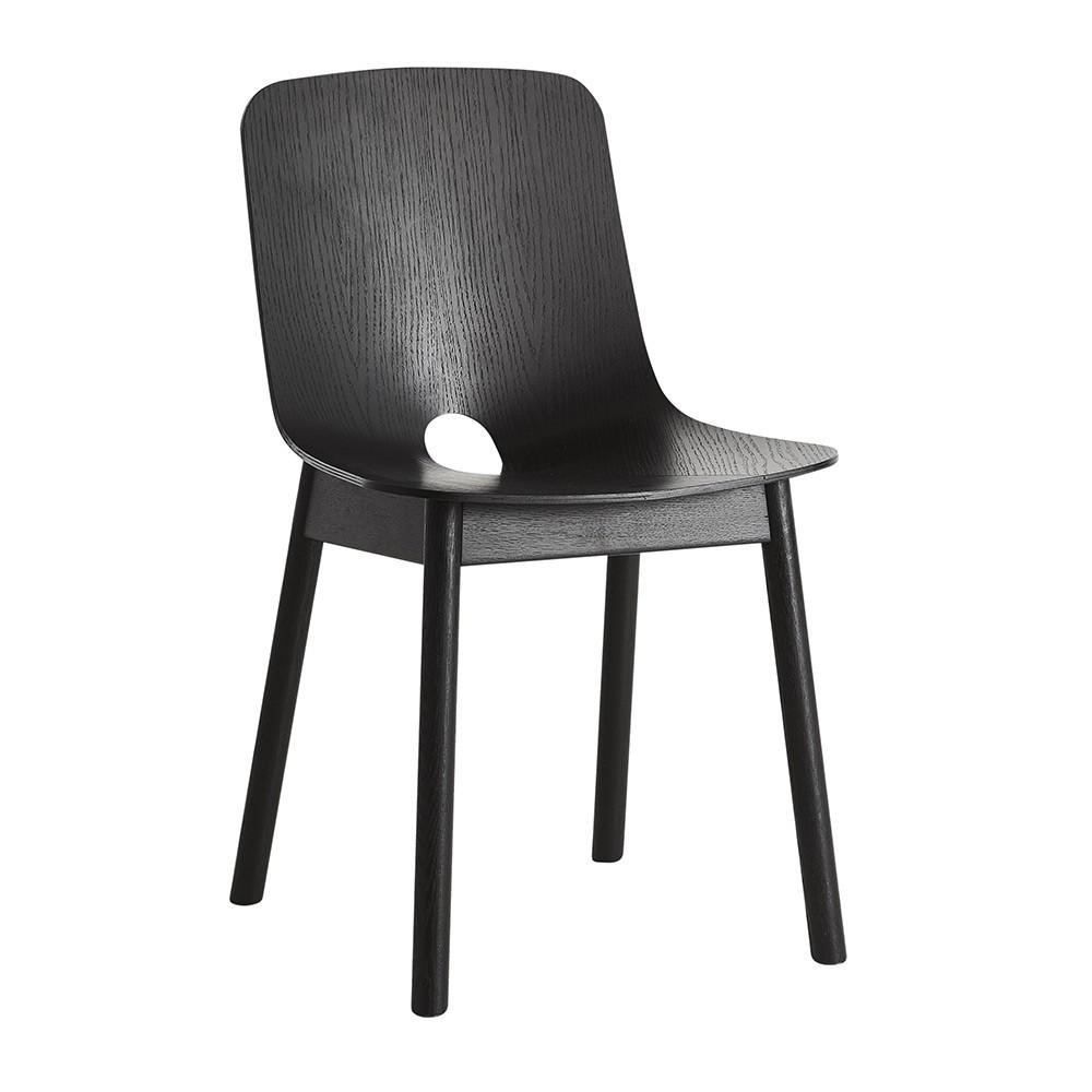 Chaise Mono noir Woud