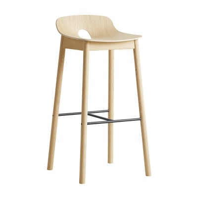 Mono bar stool oak Woud