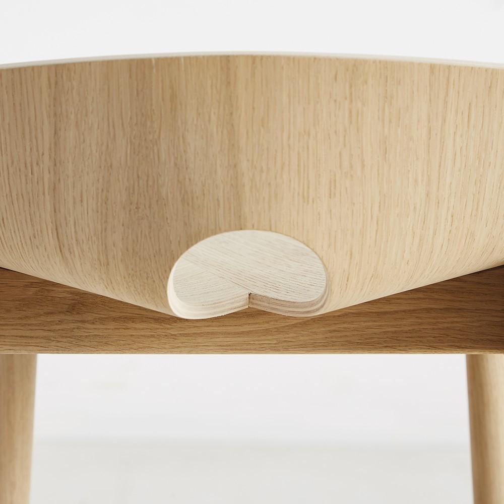 Mono bar stool oak Woud