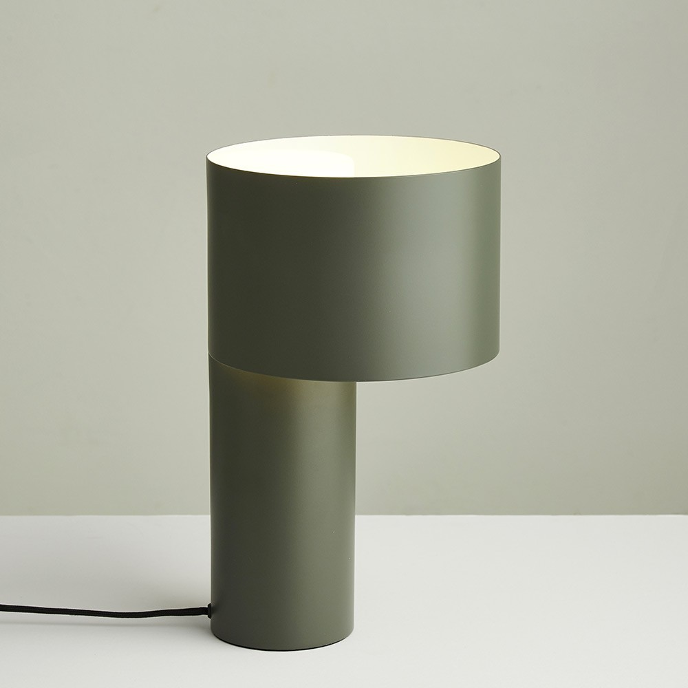Tangent table lamp forest green Woud