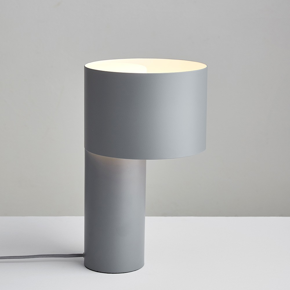 Lampe à poser Tangent cool grey Woud
