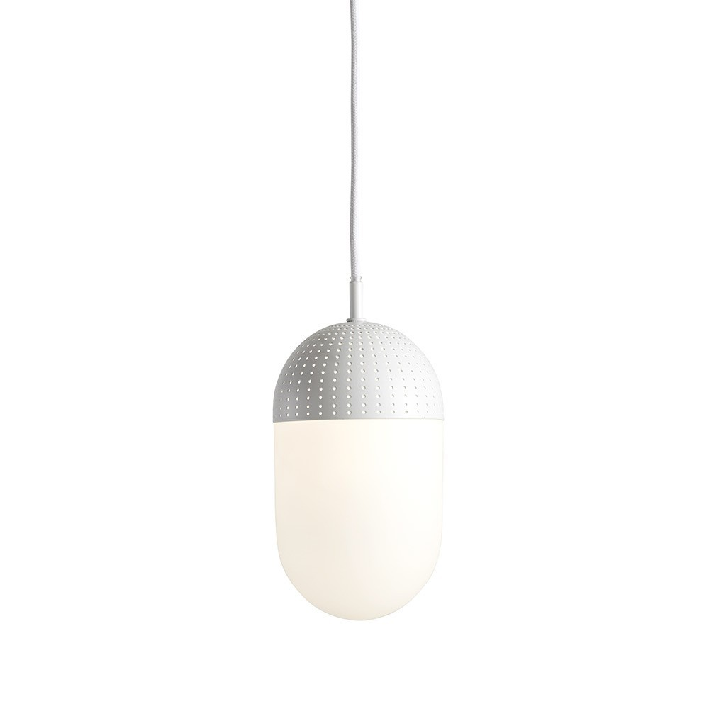 Dot pendant white L Woud
