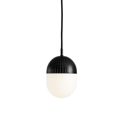 Dot pendant black M Woud