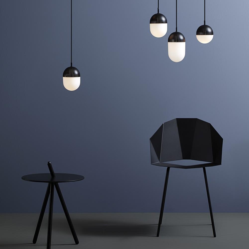 Dot hanglamp zwart L Woud