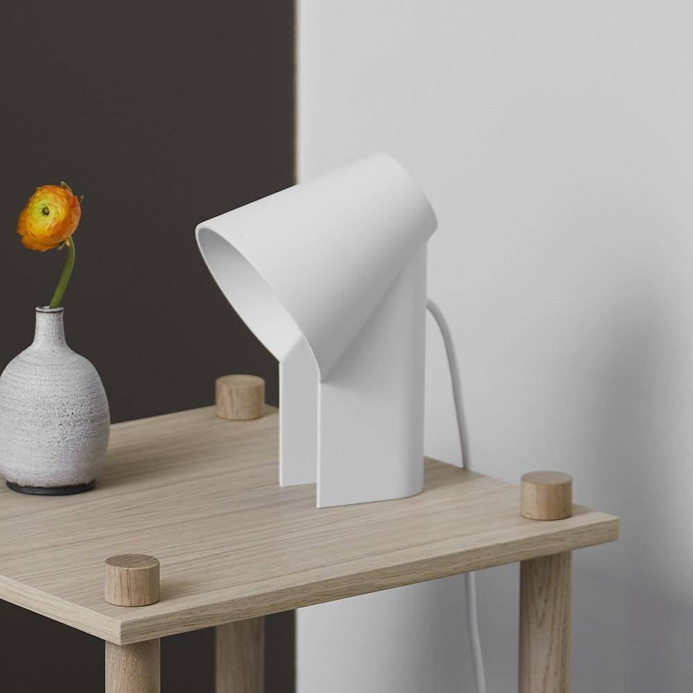 Studeer tafellamp wit Woud