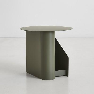 Sentrum side table dusty green Woud
