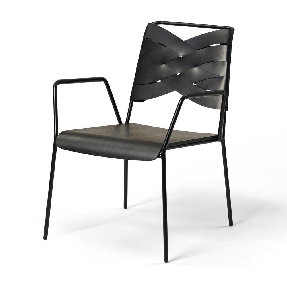 Torso fauteuil zwart essen & zwart Design House Stockholm