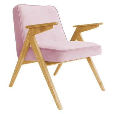 Bunny armchair Velvet powder pink 366 Concept