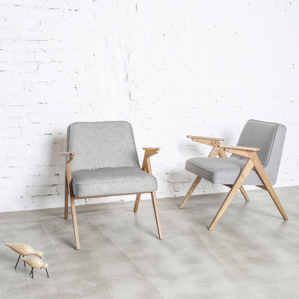 Bunny fauteuil poederroze fluweel 366 Concept