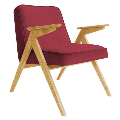 Bunny armchair Velvet merlot 366 Concept