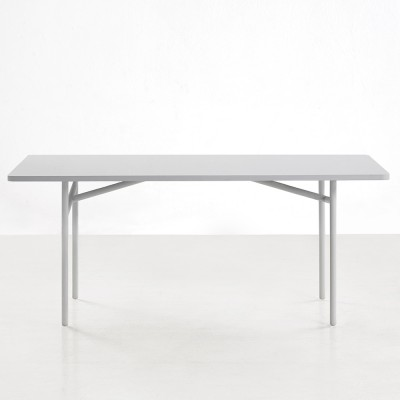 Grijze diagonale tafel Woud