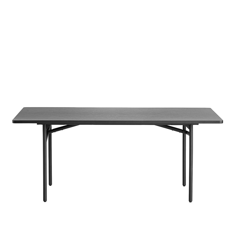 Diagonale tafel zwart Woud