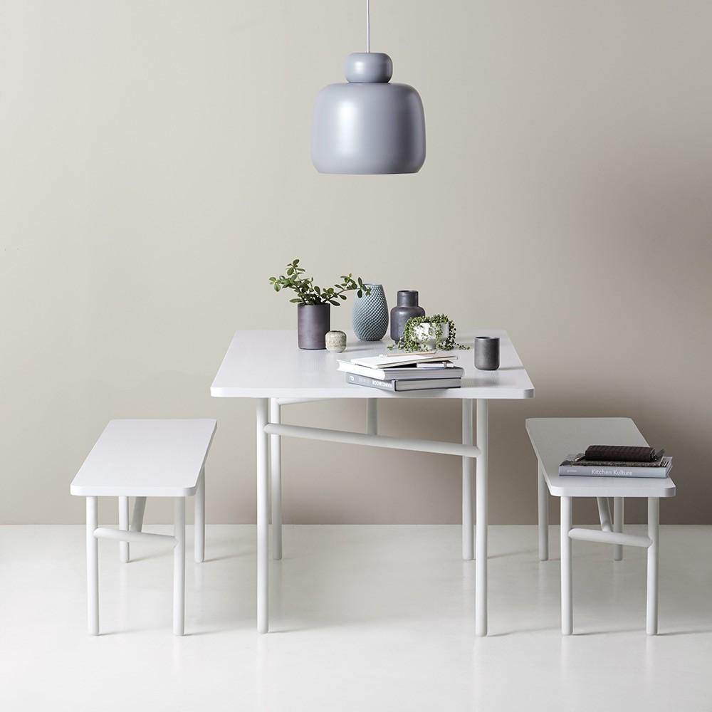Diagonale blauwe tafel Woud