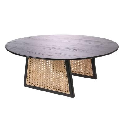 Webbing coffee table L black HKliving