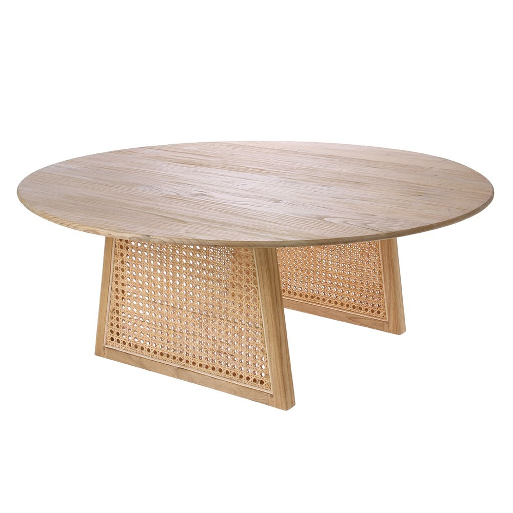 Webbing coffee table L natural HKliving
