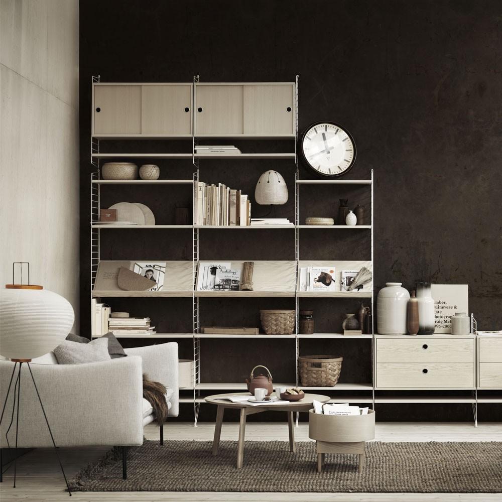 Ash planken - String systeem String Furniture